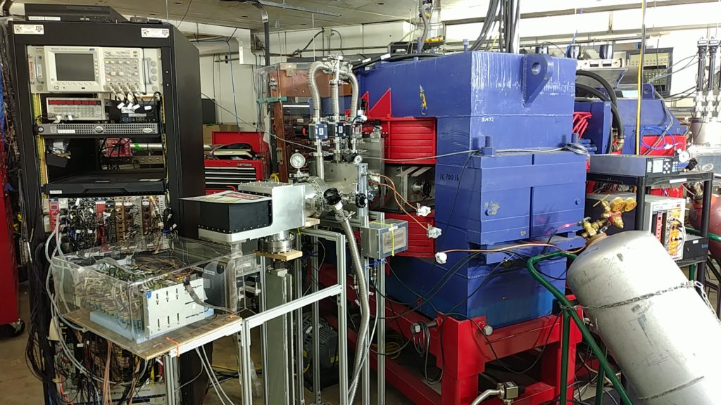 The AGGIE gas-filled separator at the Cyclotron Institute at Texas A&M University.